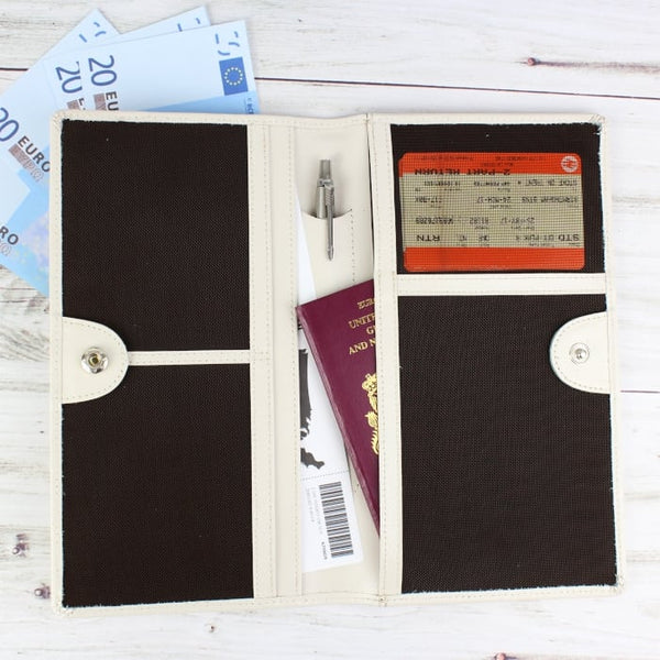 Mr and Mrs Ticket & Document Holder - CalEli Gifts