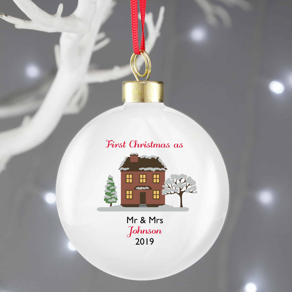 New Home Christmas Bauble - CalEli Gifts