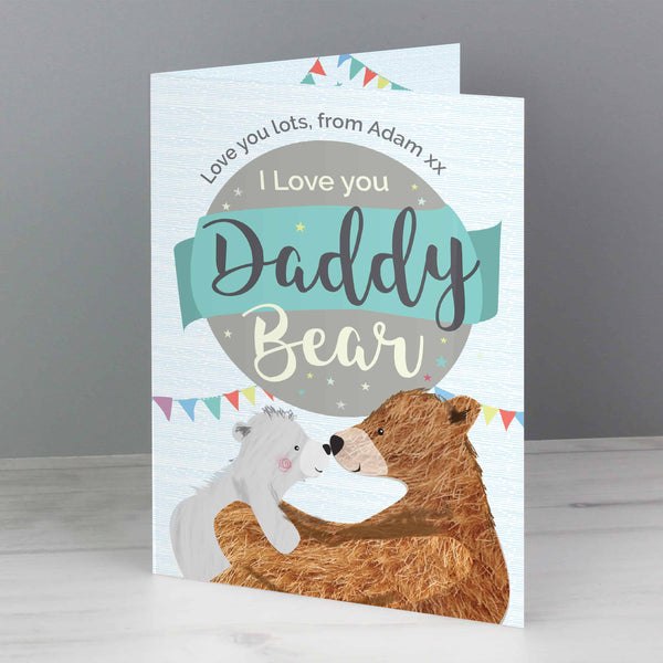 No 1 Daddy Card - CalEli Gifts