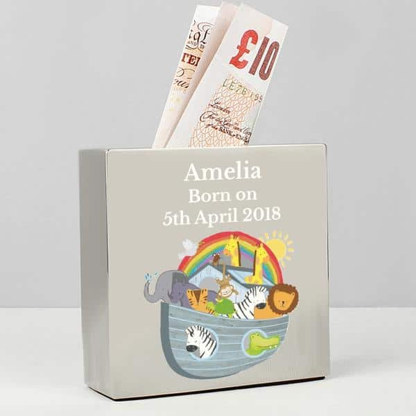 Noah's Ark Money Box - CalEli Gifts