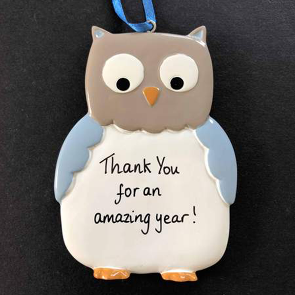 Owl Decoration - CalEli Gifts