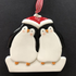 Penguin Couple Tree Decoration - CalEli Gifts