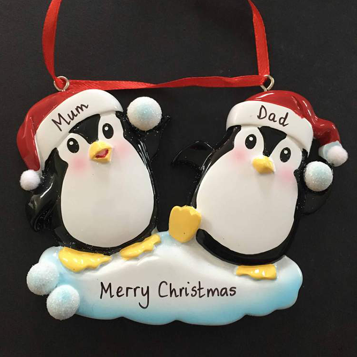 Penguin Snowball Couple