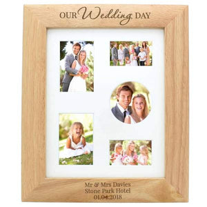 Personalised Wedding Frame - CalEli Gifts