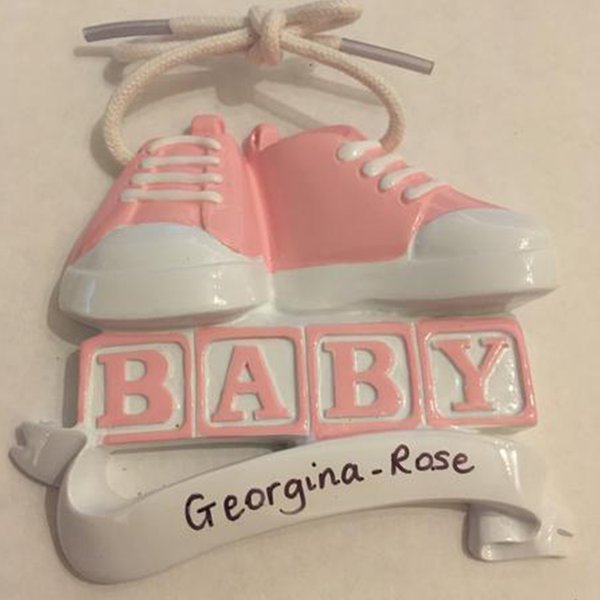 Pink Trainer Decoration - CalEli Gifts