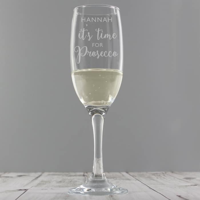 It's Time For Prosecco Flute - CalEli Gifts