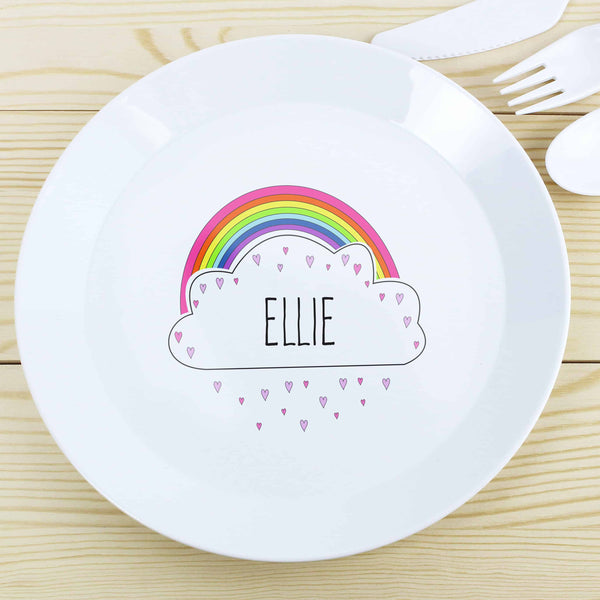 Personalised Kids Plastic Plate