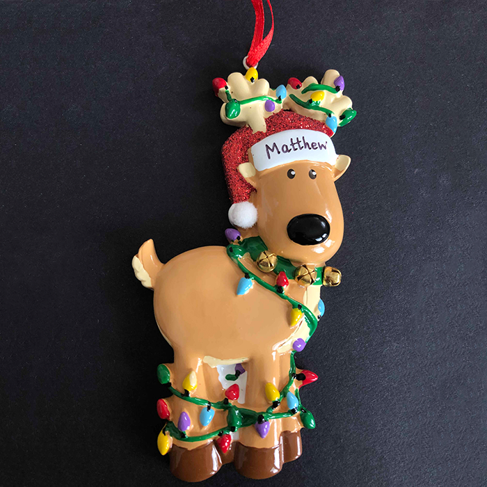 Reindeer Tree Decoration