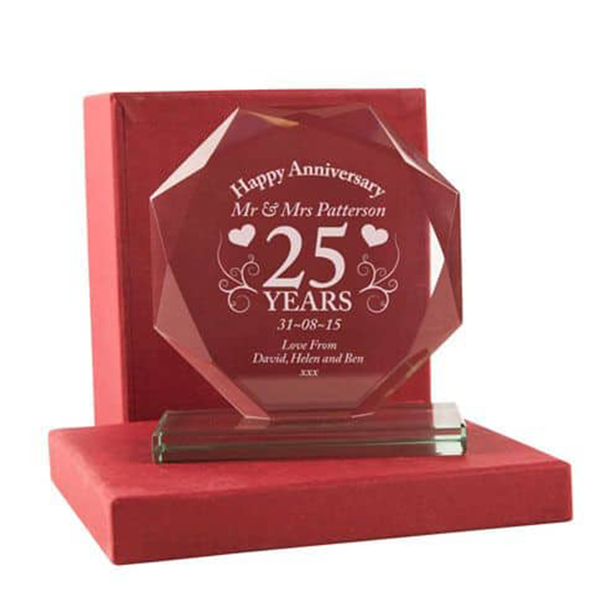 25th Anniversary Presentation Gift - CalEli Gifts