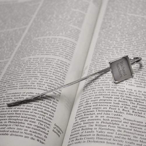 Square Book Mark