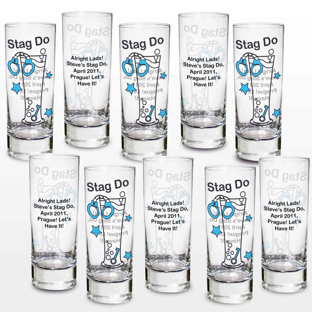 Stag Do Shot Glasses