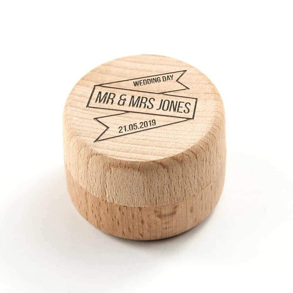 Wedding Ring Box - CalEli Gifts