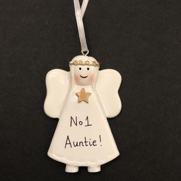 White Angel Tree Decoration