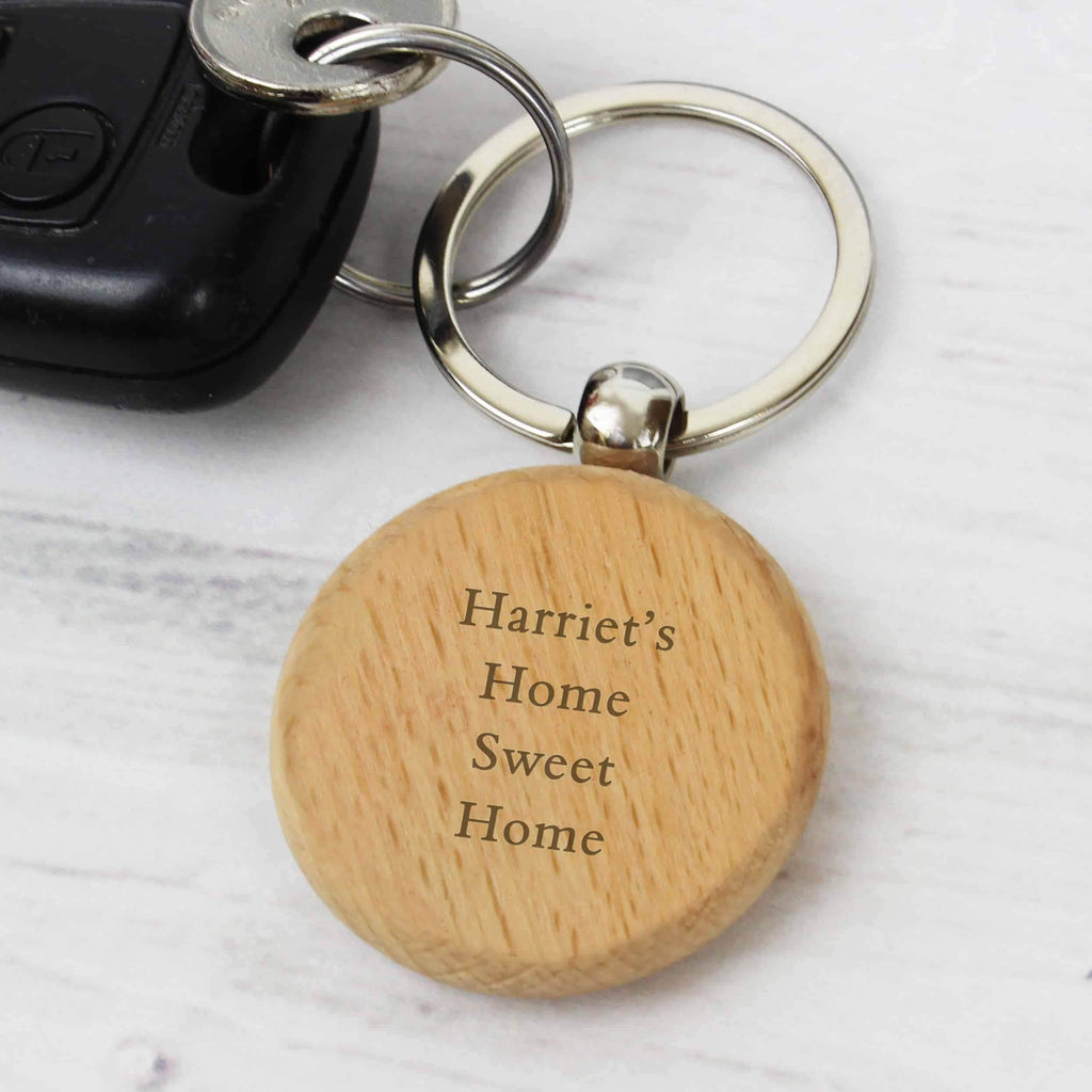 Wooden Keyring - CalEli Gifts