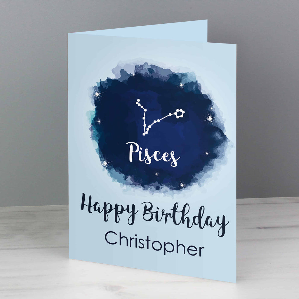 Zodiac Birthday Card - CalEli Gifts