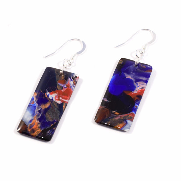 Graffiti Art Earrings