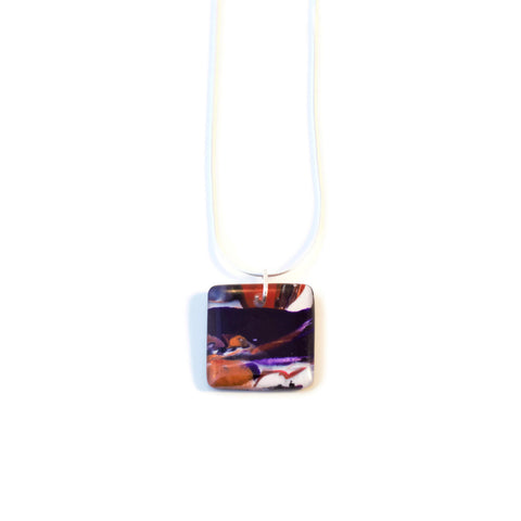 Square sunset pendant