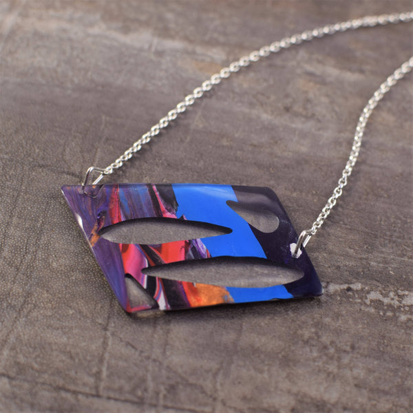 Unique abstract pendant