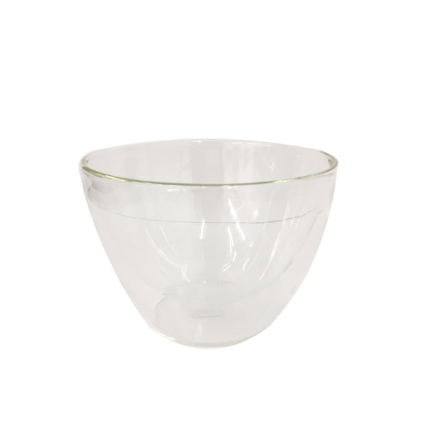 Double Walled Glass Matcha Bowl