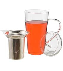 Marbella Glass Cup with Infuser