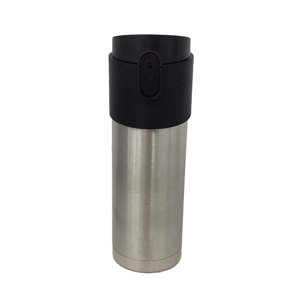 Silver Stainless Steel Travel Mug
