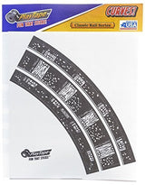 Inroad Playtape Classic Rail 2-inch Broad Curves, 2 pieces | Toys Tribe Pte Ltd