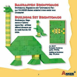 Used Set for Sale: Anker Brontomos Large Building Set | Toys Tribe Pte Ltd