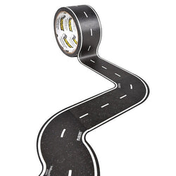 Inroad Playtape Classic Road 2-inch Tight Curves (Black), 8 pieces | Toys Tribe Pte Ltd