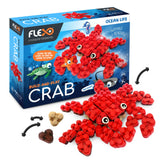 Flexo Ocean Life - Crab | Toys Tribe Pte Ltd
