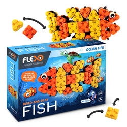Flexo Ocean Life - Fish | Toys Tribe Pte Ltd