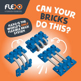 Flexo Builder Set, 400 pieces | Toys Tribe Pte Ltd