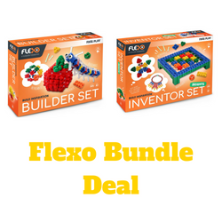 [Bundle Deal] Flexo Builder Set + Inventor Set | Toys Tribe Pte Ltd