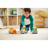 ToysTribe - Green Toys Construction Trucks Gift Set, Pack of 3
