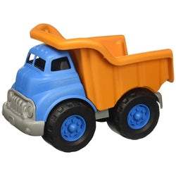 Green Toys Dump Truck (Blue/Orange) | Toys Tribe Pte Ltd
