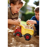 Green Toys Dump Truck (Red/Yellow) | Toys Tribe Pte Ltd