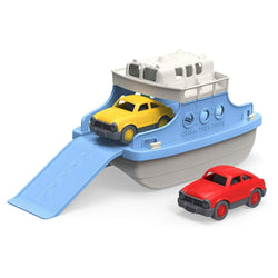 ToysTribe - Green Toys Ferry Boat with Mini Cars (Blue/White)