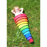 ToysTribe - Grimm's Large Rainbow, 12 pieces