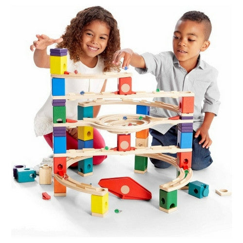 ToysTribe - For Rent: Hape Quadrilla Marble Run - Loop de Loop