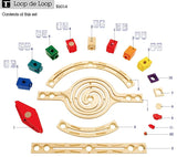 ToysTribe - Hape Quadrilla Marble Run - Loop de Loop