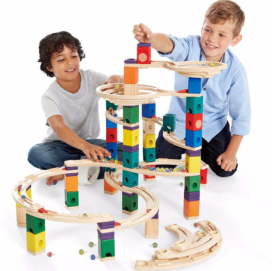 ToysTribe - Hape Quardrilla Marble Run - Cyclone