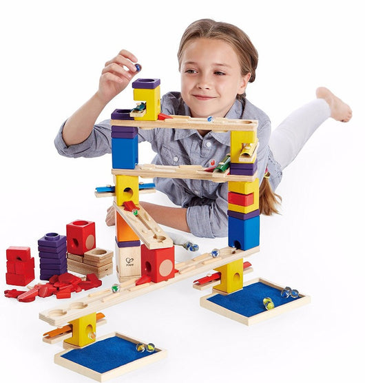 ToysTribe - Hape Quardrilla Marble Run - Music Motion