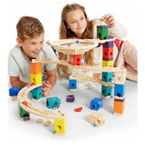 For Rent: Hape Quadrilla Marble Run - Whirlpool | Toys Tribe Pte Ltd