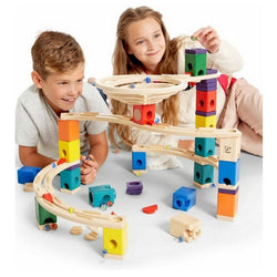 ToysTribe - For Rent: Hape Quadrilla Marble Run - Whirlpool