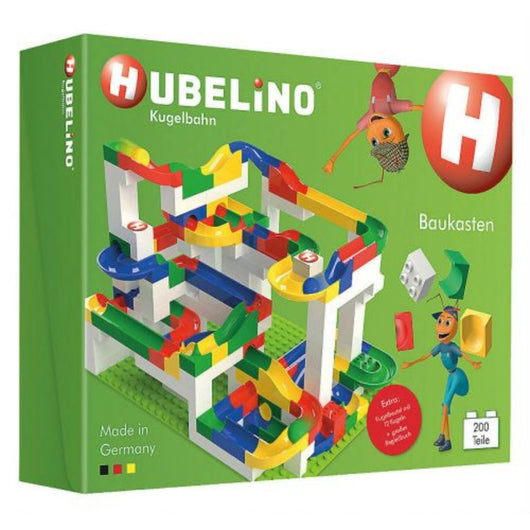 ToysTribe - Hubelino Marble Run Big Building Box, 200 pieces