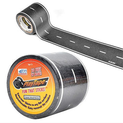 ToysTribe - Inroad Playtape Classic Road (2 inch x 30 feet) - Black