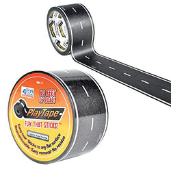 Inroad Playtape Classic Black Road (2 inch x 60 feet) | Toys Tribe Pte Ltd