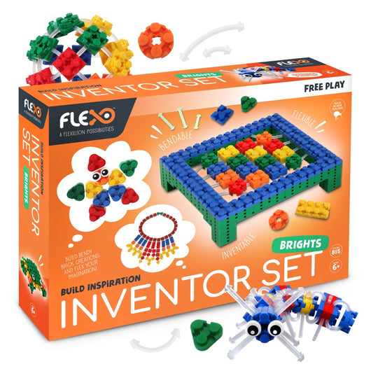 ToysTribe - Flexo Inventor Set, 800 pieces