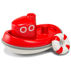 ToysTribe - KID O Floating Tug Boat Bath Toy (Red)