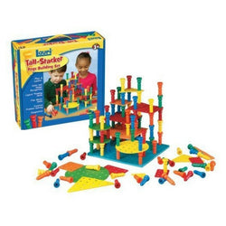 For Rent: Lauri Tall-Stacker Pegs Building Set | Toys Tribe Pte Ltd