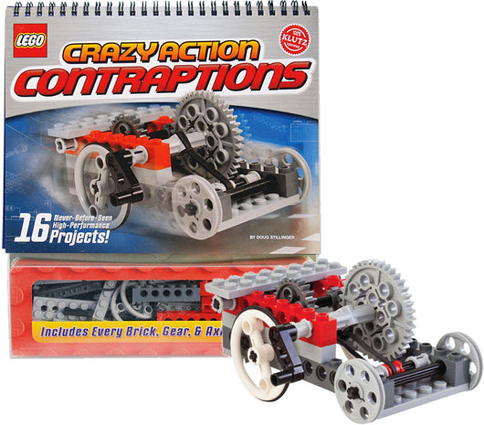 ToysTribe - Klutz LEGO Crazy Action Contraptions Kit